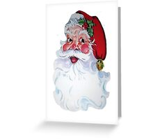 Vintage Style Jolly Santa  Greeting Card