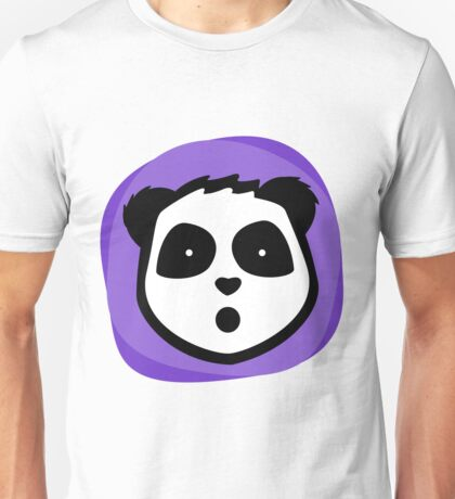 Shocked Panda Unisex T-Shirt