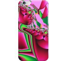 Cute Pattern in hot pink and green iPhone Case/Skin