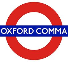 Oxford Comma by glyphobet