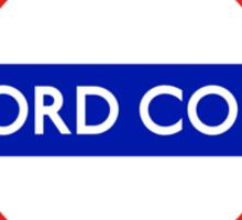 Oxford Comma Sticker