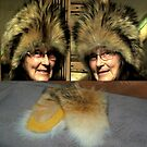 Wolf Hat and Mitts by MaeBelle