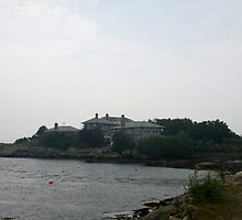 House near the sea Newport RI by Ilan Cohen