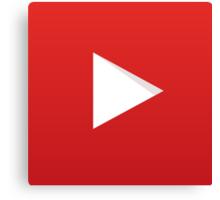 Youtube Logo Canvas Print