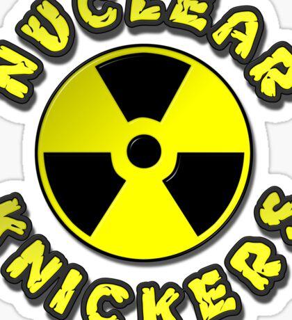 Nuclear Knickers Sticker