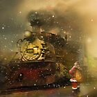 The Traveling Santa by Maria Murphy