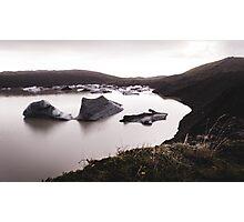 Iceland Ice Photographic Print