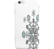 Minimalistic Snowflake Christmas iPhone Case/Skin