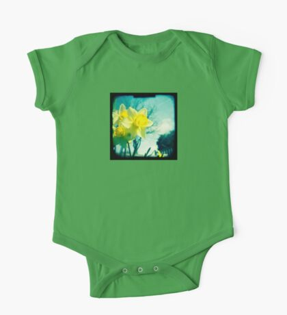 Daffodils One Piece - Short Sleeve