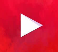 Textured Youtube Logo by sophiehamlin