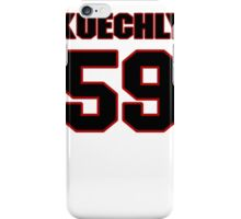 NFL Player Luke Kuechly fiftynine 59 iPhone Case/Skin