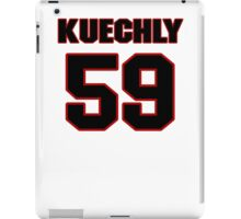 NFL Player Luke Kuechly fiftynine 59 iPad Case/Skin