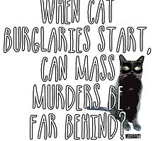 Correlation between Cat Burglers and Mass Murders by VeeGiggity