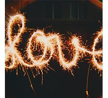 Sparkling Love  Photographic Print