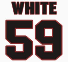NFL Player Chris White fiftynine 59 by imsport