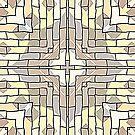 Tile Pattern by Julie Everhart by Julie Everhart