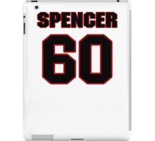 NFL Player Chris Spencer sixty 60 iPad Case/Skin