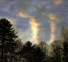 Cloudspires by Wayne King
