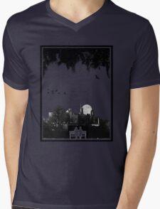 Dornoch Terrace Moonrise Mens V-Neck T-Shirt