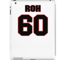 NFL Player Craig Roh sixty 60 iPad Case/Skin