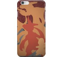 Pokemon - Charmander - Charmeleon - Charizard - Absol - Flygon - Red - Blue iPhone Case/Skin