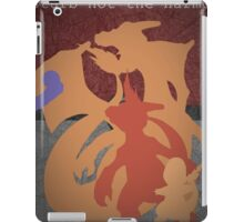 Pokemon - Charmander - Charmeleon - Charizard - Absol - Flygon - Red - Blue iPad Case/Skin