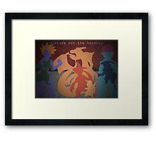 Pokemon - Charmander - Charmeleon - Charizard - Absol - Flygon - Red - Blue Framed Print