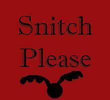 Snitch please by killthespare89