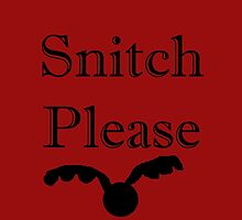 Snitch please by killthespare89