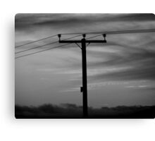 Live Wire Canvas Print