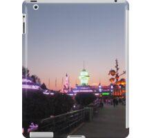 Discoveryland at Night iPad Case/Skin