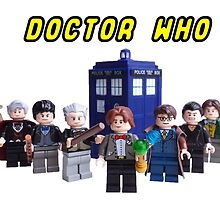 Lego Doctor Who by raidenhiro