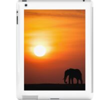 Mara sunset iPad Case/Skin