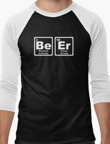 Beer - Periodic Table Men's Baseball ¾ T-Shirt