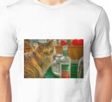 CAT AND TEQUILA Unisex T-Shirt