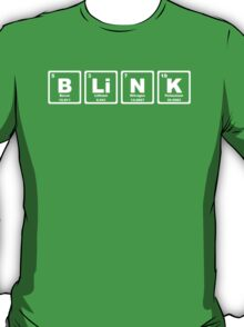 Blink - Periodic Table T-Shirt