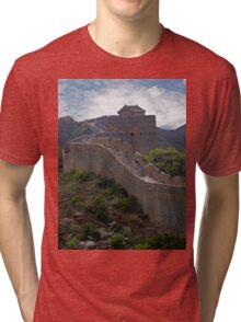 The Great Wall of China at Jinshanling Tri-blend T-Shirt