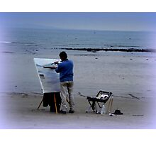 An Artist at work Photographic Print