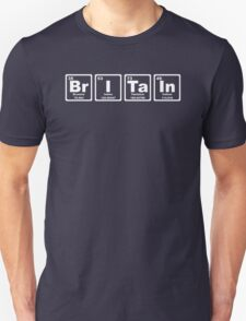 Britain - Periodic Table Unisex T-Shirt