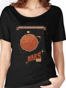 Mars colonization project Women's Relaxed Fit T-Shirt