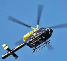 Dorset Police Helicopter by lynn carter
