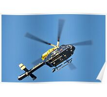 Dorset Police Helicopter Poster