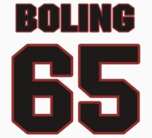 NFL Player Clint Boling sixtyfive 65 by imsport