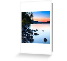 THE RHINE 09 Greeting Card