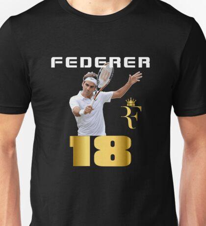 Roger Federer. Unisex T-Shirt