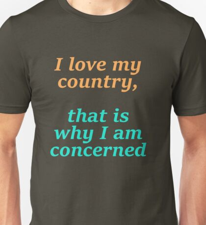 I Love My Country Unisex T-Shirt
