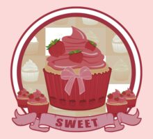 Sweet Strawberry Cupcake Kids Clothes