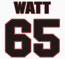 NFL Player Chris Watt sixtyfive 65 by imsport