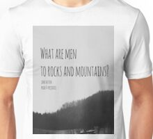 Jane Austen Mountain Unisex T-Shirt
