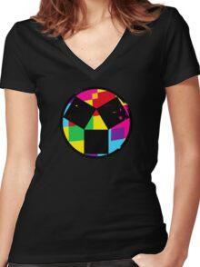 DDTK -  Women's Fitted V-Neck T-Shirt